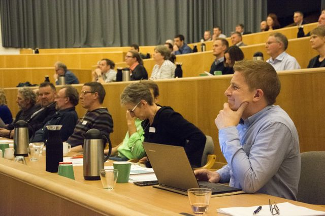Konferencen Green Business i Rebild trak næsten 100 deltagere.