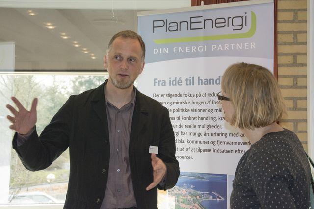 PlanEnergi fra Skørping var bare en af de næsten 20 udstillere.