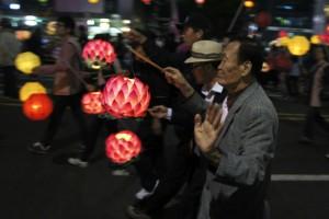 Optog i anledning af Buddhas fødselsdag