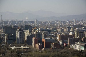 Udsigt over Beijing