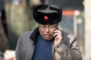 Rød stjerne og telefon