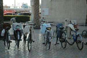 Cykler med abayaer