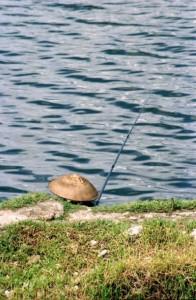 Dali 1995 fisker med kinahat
