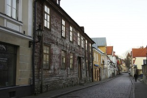 Forfald i den gamle bydel Tallinn