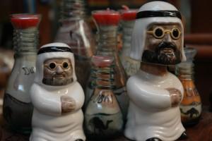 Keramik-figurer af muslimer