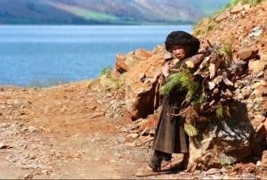 Kina 1995 Luguhu Mosuo minoritet matriarkat