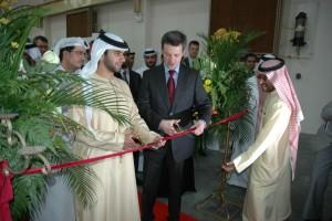 Kronprins Frederik klipper snor Logstor Dubai