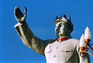 Lijiang 1995 Mao Zedong statue