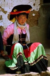Luguhu 1995 - Kvinde fra Yi-minoritet