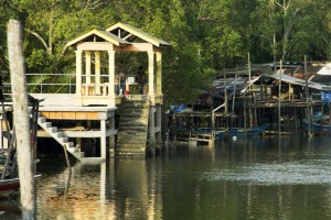 Malaysia fiskerlandsby