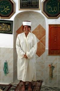 Besøg i moske, Marmaris til Datca