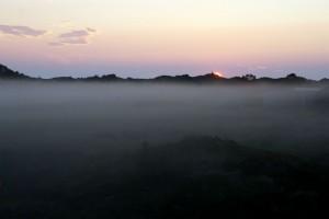 Sidste kig til solen over Rødhus Klithede