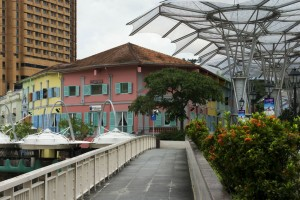 Singapore gamle by Clarke Quay