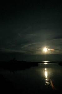Sol over Bagenkop Havn