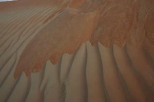 Solopgang i ørken