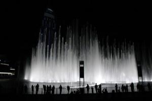 Springvand ved Burj Khalifa