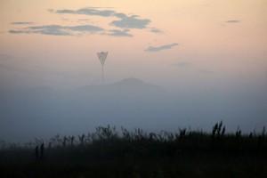 Tåge ved Rødhus Klithede