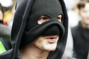Voldsom demonstration mod finanskrise London marts 2013