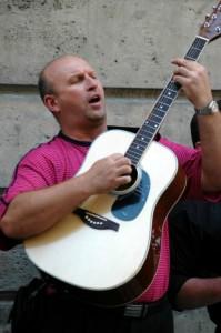 Gadesanger i det jødiske kvarter