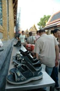 Sko, Grand Palace, Bangkok, Thailand