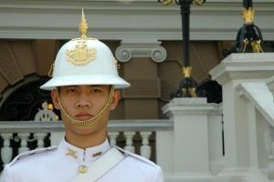 Vagt, Grand Palace, Bangkok, Thailand