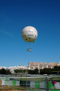 Luftballon i Paris