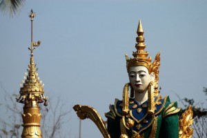 Tempel i Prae, i Thailand