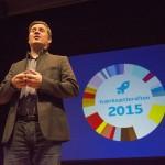 Aalborgs borgmester Thomas Kastrup-Larsen kunne fortælle, at der allerede er startet 1000 nye virksomheder i Aalborg i år
