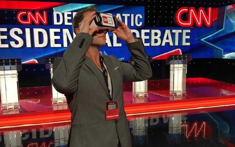 CNN demonstrerer VR-briller
