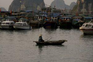 Blandt muslingefiskere i Cai Rong, Bai Tu Long Bay