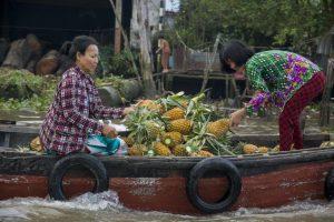 Flydende marked /Floating Market, Can Tho, Mekong-deltaet