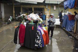 Rullende tøjbutik, Hanoi