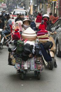 Hattebutik, Hanoi