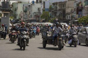Trafikkaos, Ho Chi Minh Byen