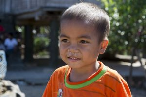 Landsbyer nær Kon Tum i det vestlige Vietnam