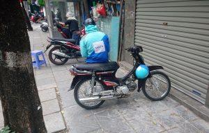 Uber på scooter, Hanoi
