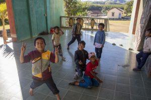 Nær Kon Tum i det vestlige Vietnam