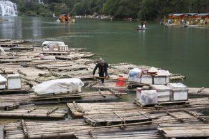 Grænsehandel, grænsen Vietnam-Kina, Ban Gioc Vandfald