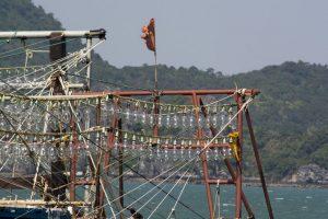 Projektører til natfiskeri, Quan Lan