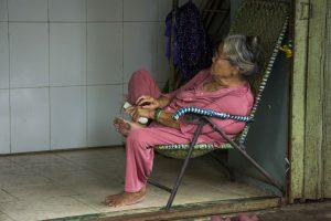 Afslapning i Can Tho i Mekong-deltaet