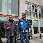 Claus Nivaa & Nader Alkasem læste højt af deres tosprogede digte
