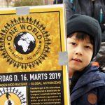 Demonstration i mange danske byer 16. marts