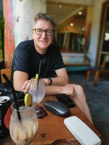 Carsten Lorenzen på Bali