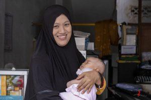 Muslimsk mor i Singaraja